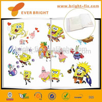 transparent colored plastic sheet/self adhesive transparent book cover