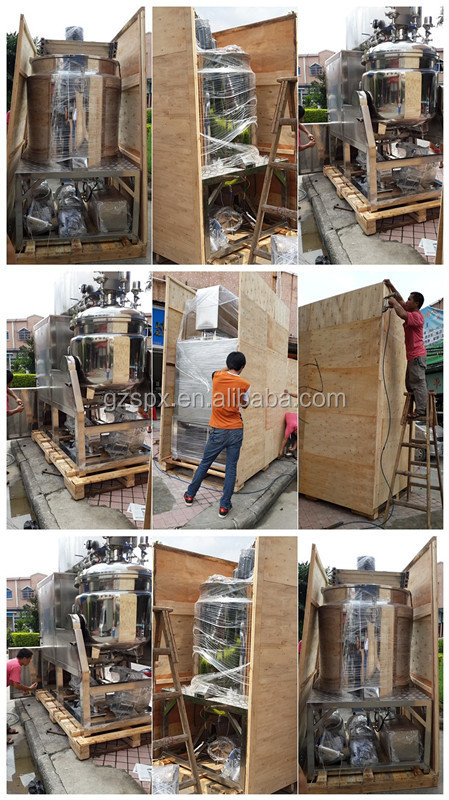 2015 new design cream machine factory price vacuum emusifier machine