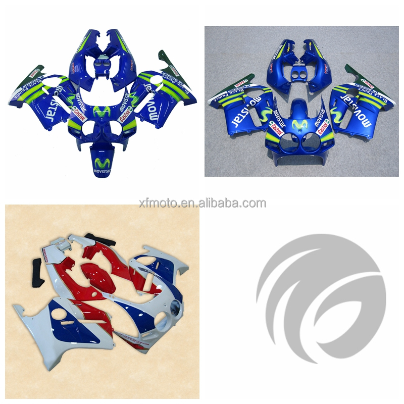 Injection Mold ABS Plastic Fairing Kit Fit For Honda CBR250R MC19 1988 1989 2A