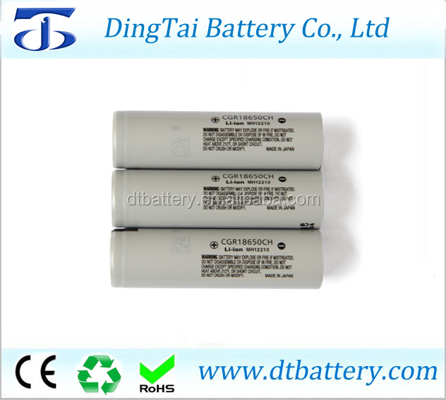 Japan 18650 li-ion battery cell 3.6v 2250mah 10A battery cgr18650ch