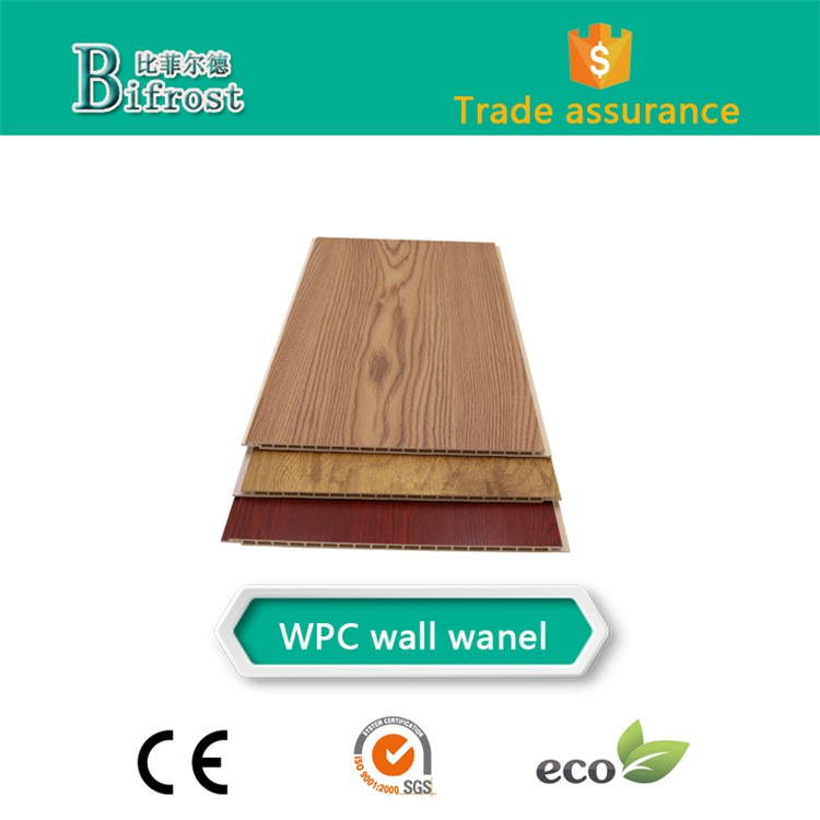 Long lifetime Ceiling wood wpc interior wall panel, 3d wall panels