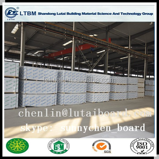 100% free asbestos fire proof fiber cement board with ISO