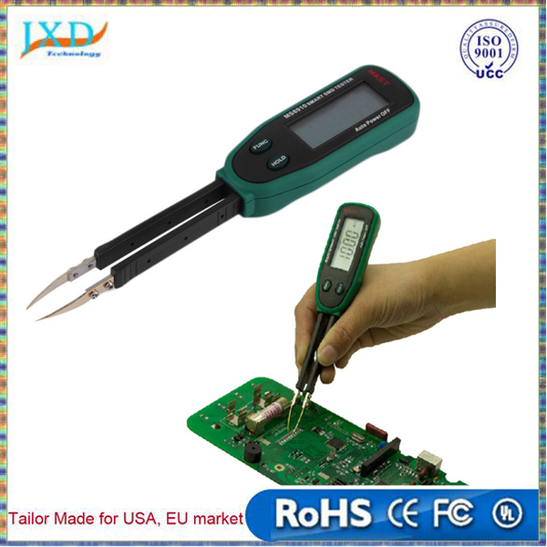 Tweezers Smart SMD RC Resistance Capacitance Diode Meter Tester Auto Scan Stock Offer