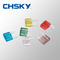 Hot Sale with the high quality 12V 5A to 35A Min blade fuse S11