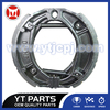 JH70 Drum Brake Shoe With Black Paint For Jialing Motorbike
