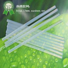 China Manufacturer Customizable11mm crystal clear Eva Hot melt glue stick for book binding