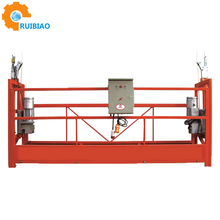 Wire rope suspended working platform,aerial suspended platform equipment,Suspended access platform systems