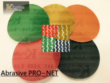 New goods of velcro Abrasive net sanding disc for Car polishing MADE IN TAIWAN