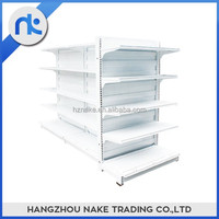 Customized metal goods store and display supermarket shelf