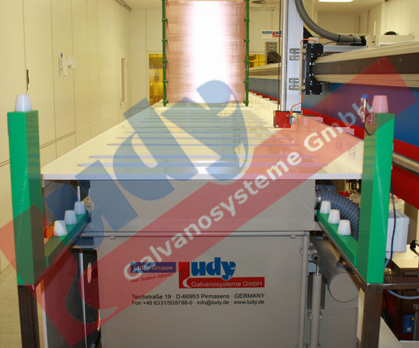 "LUDY ""SlimPlat"" plating plant MADE IN GERMANY"