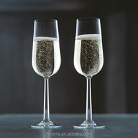 champagne coupes wine glasses