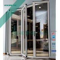 ROOMEYE aluminum bifolding glass door china factory
