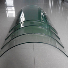 Low E low U value 6mm 8 mm 10mm curved tempered glass
