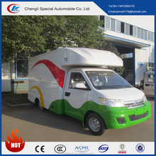 CHINA 4X2 new gasoline mini food truck for sale in malaysia