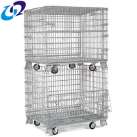 Warehouse Storage Collapsible Wire Mesh Roll