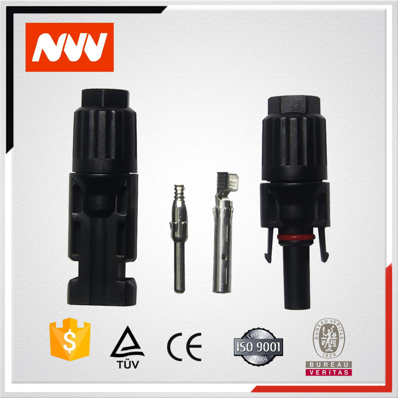 20 years life male and female solar MC4 connector for solar panels