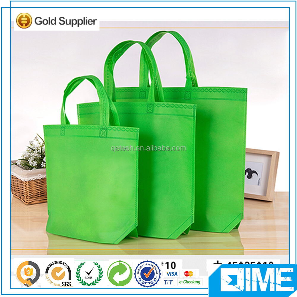 Custom Eco material recycled non woven shopping tote bag
