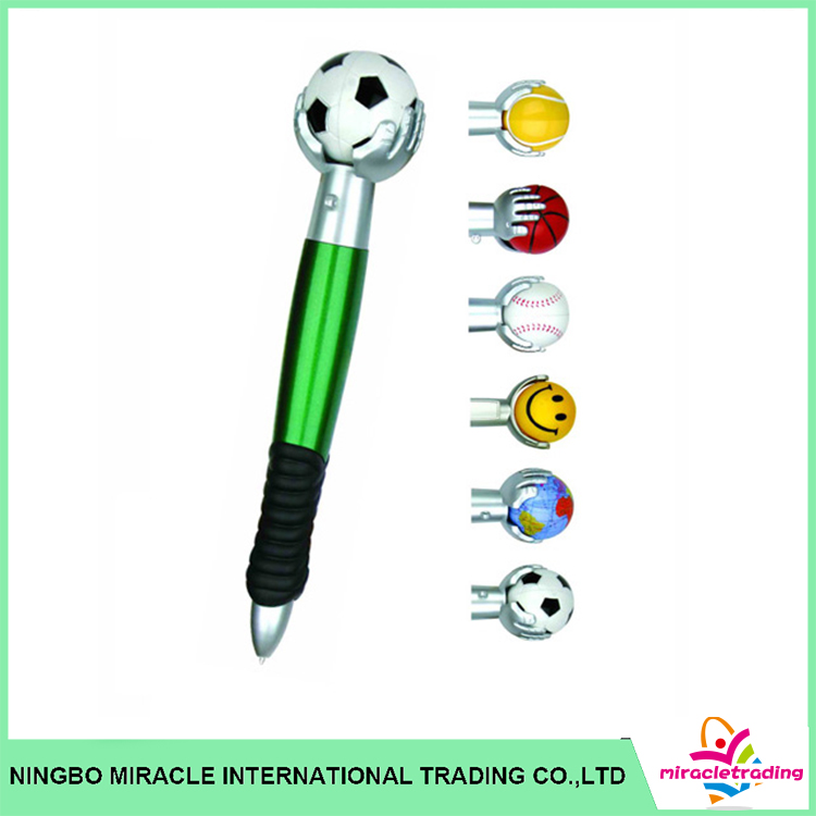 Funny Retractable Stylus Ball Pen Office