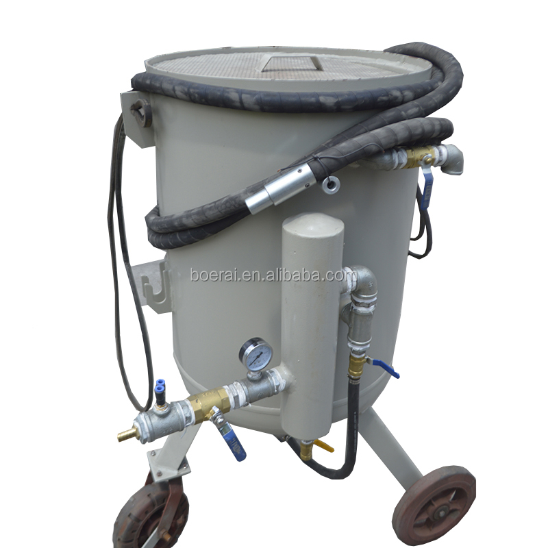 High pressure industrial rust remove siphon feed sand blaster
