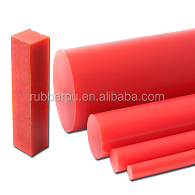 300mm 70a 80a 90a 95a shore casting flexible polyurethane pu bars