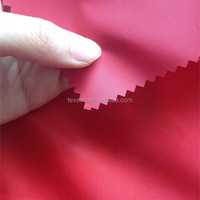210d waterproof PVC coated car top cover fabric rain fabric