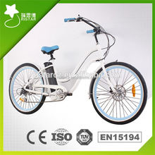 2016 new sytle 250W high performance snow electric bicycle RSEB1215