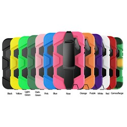 Tpu Back Cover Colorful Case For Samsung Case Witn Belt Clip