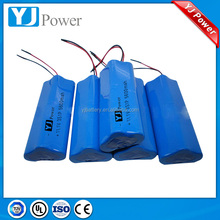 lir 18650 cylindrical high capacity li ion batteries and size can be customized