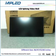 Indoor media lcd video wall for broadcast tv series