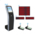 Touch screen ticket dispenser electronic calling system wireless bank queue kiosk