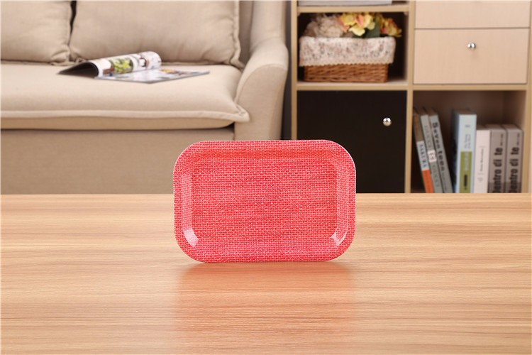New products Unique Design Good quality Melamine Food Serving Tray