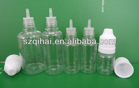30ml clear PET e liquid bottle plastic e liquid dropper bottle e cig liquid bottle