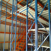 Good quality used warehouse shelving storage steel Mezzanine rack