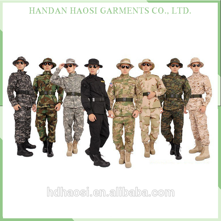 Desert Tiger Stripes Camo Uniform, Custom Military Uniforms, New Design Tactical Uniform
