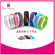 Factory direct silicone led watch for women