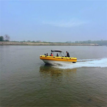 Popular self inflating 2 person cabin fishing boat
