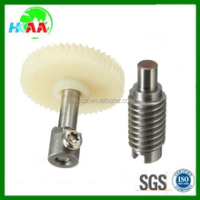 ISO9001 certificate high precision custom plastic worm gear