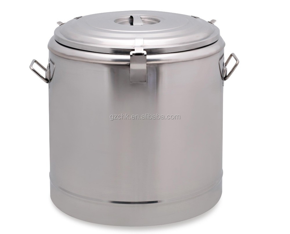 50L Stainless steel heat insulated rice for restaurant /Rice warmer pot