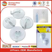 Plastic PVC suction hook suction cup clip