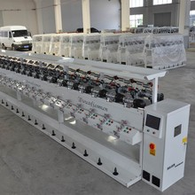 high speed tights polyester fiber winding machine producer