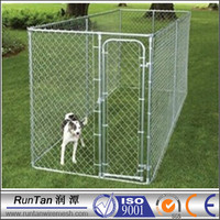 wholesale cheap chain link cage dog kennel (factory)
