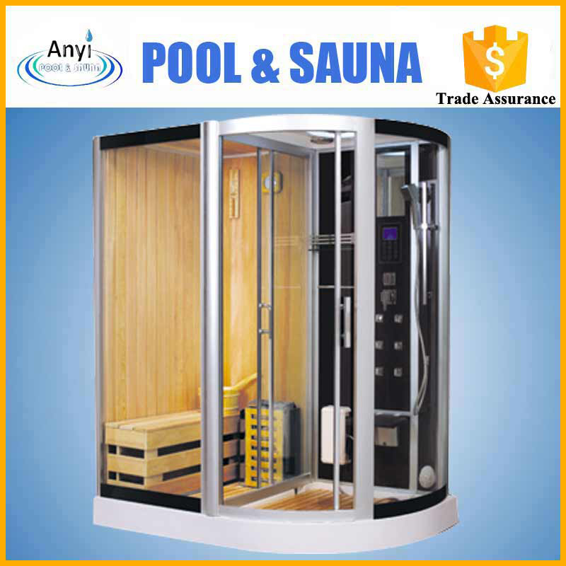 residential steam sauna sauna shower and bath combination with low price