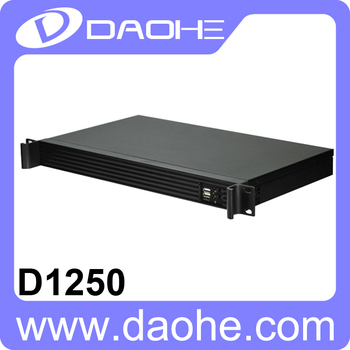 2016 DAOHE 1U 1*3.5HDD/2*2.5HDD rackmount chassisi server case new price