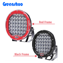 Hot Sale Black/ Red automobile 4x4 accessories 9 inch 185w ARB intensity Work light parts