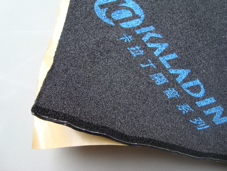 China supplier car sound deadening insulating mat soundproof material