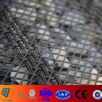 High Accuracy and High Tensile Aggregate Wire Screens for gravel gabbro aggregate