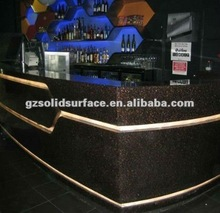 100% Acrylic Solid Surface Bar Reception Counter Top