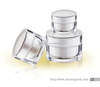 15ml 30ml 50ml acrylic cosmetic jar,cream jar,cosmetic containers