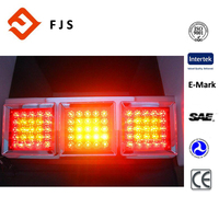 Hot sale suzhou customized 24V three tail light auto LED truck trailer parts