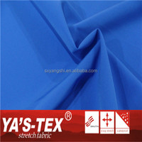 shaoxing keqiao YA'S-TEXWholesale 100% polyester stretch jacquard oxford fabric stretch fabric
